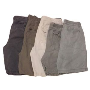 Lot Of Men's Cargo Shorts Size 34